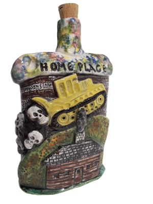 Homeplace whiskey bottle