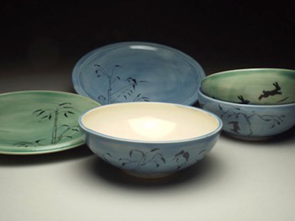 Plates-and-Bowl