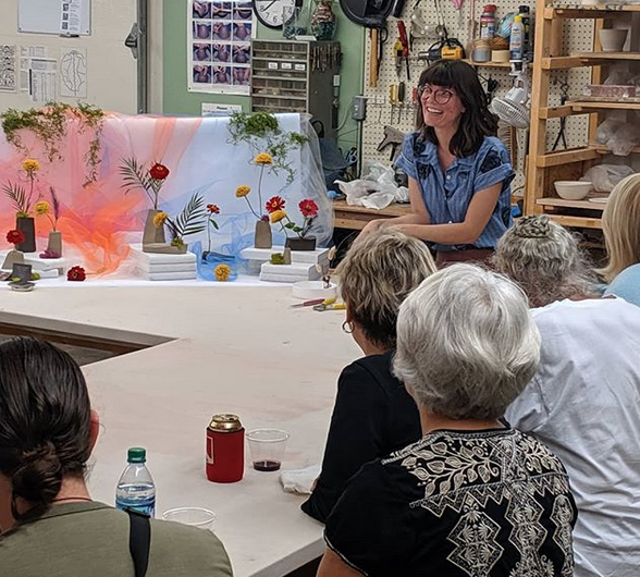 Louisville Clay Members Gather for an Evening with Kristian Stephens